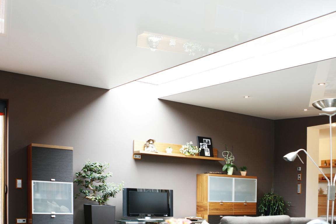 spanndecke-wohnzimmer - spanndecken bamberger