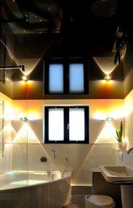 Eine Spanndecke ist eine saubere und schmutzarme Alternative für alle Räume.