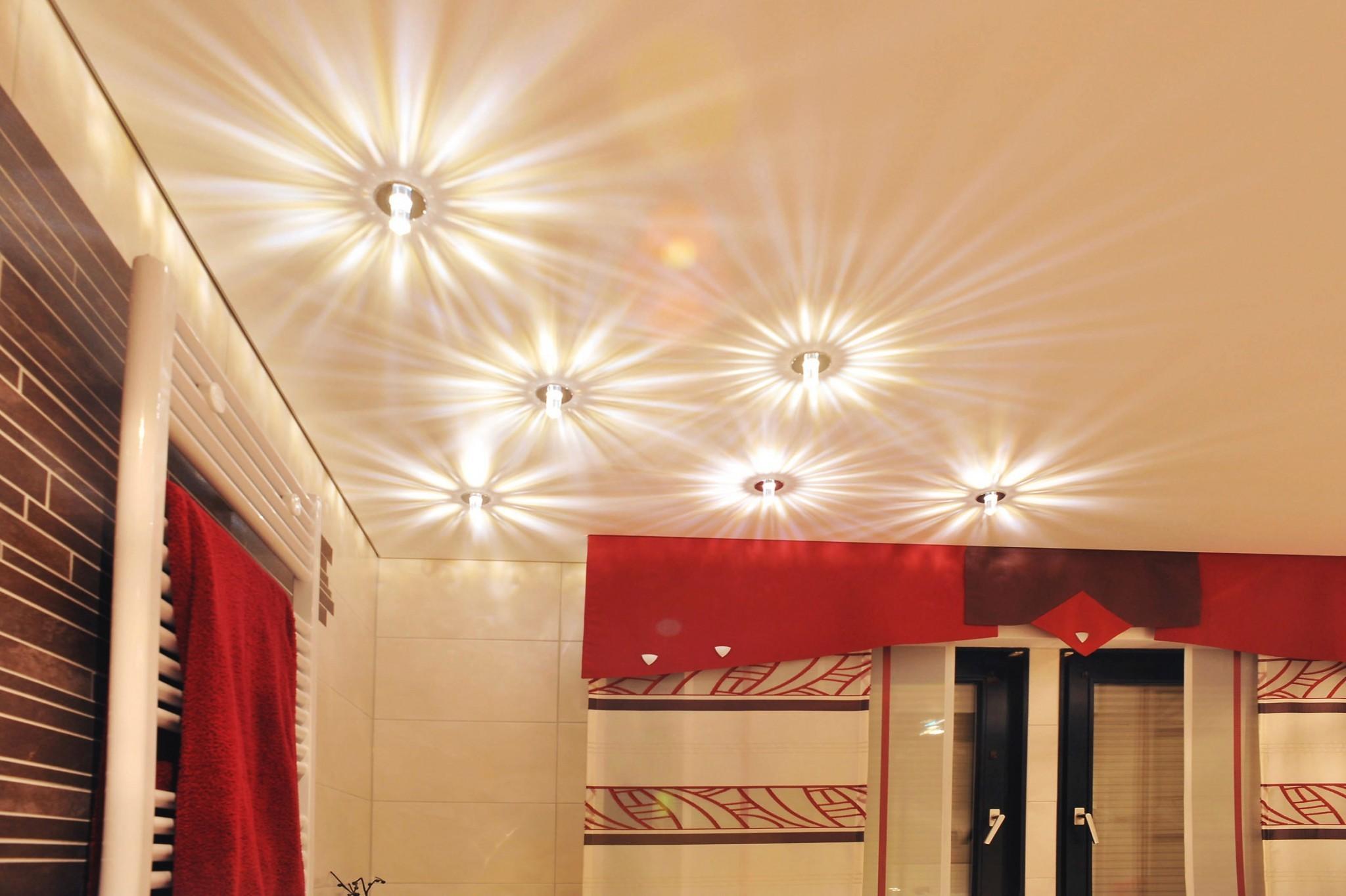 Wir setzen Ihre Räume ins richtige Licht (Teil 2) - Spanndecken ...